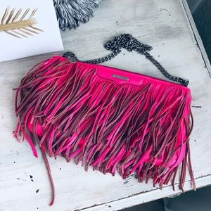 Rebecca Minkoff Finn Fringe leather bag